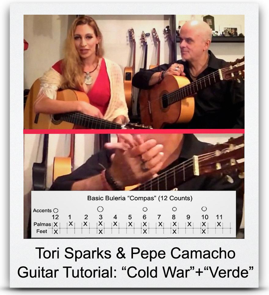 &#8220Tori Sparks & Pepe Camacho&#8221 Guitar Tutorial: Cold War + Verde