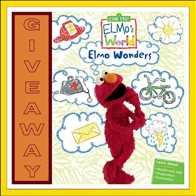 Elmo's World: Elmo Wonders DVD Giveaway